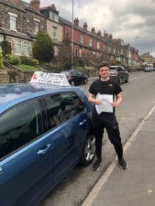 MJ Driving School Leeds - April 2019 Practical Driving Test Pass