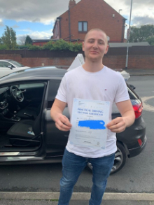 Driving-Lessons-Leeds - Driving School Leeds - 4th November 2020 Driving Test Pass