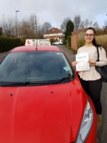 MJ Driving School Leeds - Driving Test Pass 13th March 2019