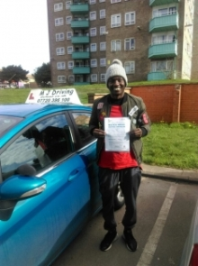 Driving Lessons Leeds - Practical Driving Test Pass 20th March 2019