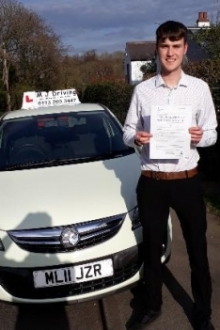 MJ driving School Leeds - First Time Practical Driving Test Pass March 2019