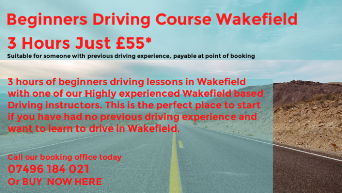 Driving Lessons Wakefield - Driving School Wakefield - Driving Instructor Wakefield - Learn To Drive Wakefield